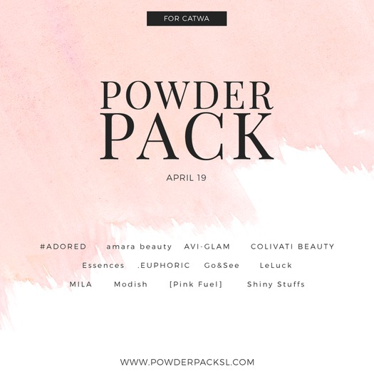 POWDER PACK CATWA April 19