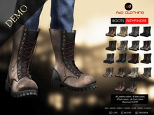 A&D Clothing - Boots -Pathfinder-  DEMOs