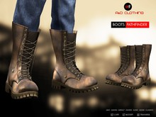 A&D Clothing - Boots -Pathfinder- Brown - Brown