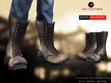 A&D Clothing - Boots -Pathfinder- Clay - Ebony