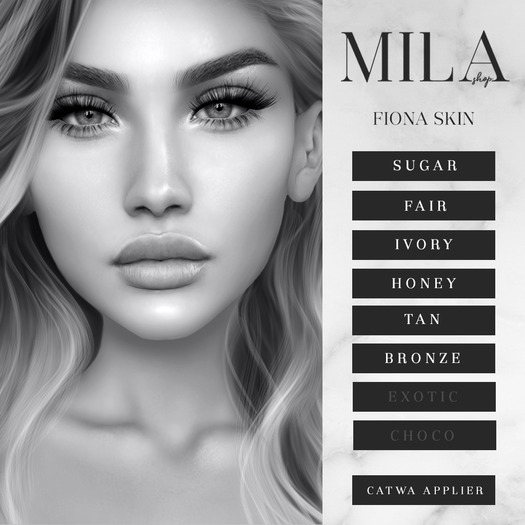 . MILA . Fiona Skin (Catwa) DEMO