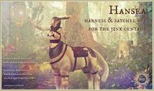 Jinx : Hansea Harness & Satchel Set  for the Centaur