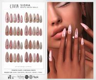LIVIA Sidra Bento Mesh Nails [Rigged for: Slink, Maitreya, Belleza, eBody, Tonic]
