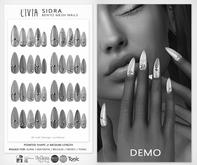 LIVIA Sidra Bento Mesh Nails DEMOS