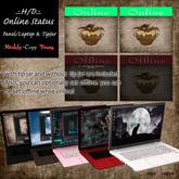 .:.H/D.:. Online Status Panel/Laptop & TipJar [18JMI2]