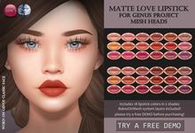 Izzie's - DEMO Matte Love Lipstick (Genus)