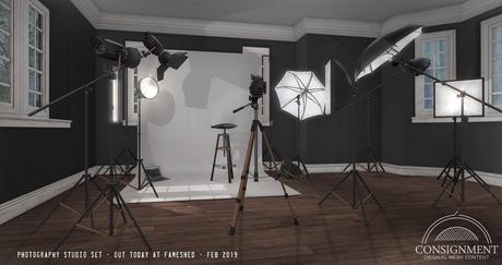 [Con.] Photography Studio Set -