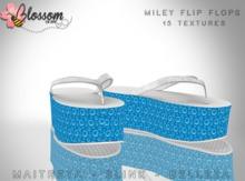 ::BLOSSOM:: Miley Flip Flops [FATPACK]