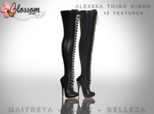 ::BLOSSOM:: Alexxxa Thigh Highs [FATPACK]