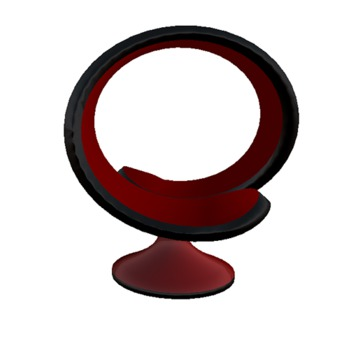 [Les Puces] Loop Seat - Red