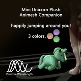 ~Positive Wavelength~ Mini Plush Companion Animesh