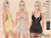 ST :: Greta Outfit - Maitreya, Slink (P, H), Belleza (V, I, F))- 10 Text HUD. Mix & Match