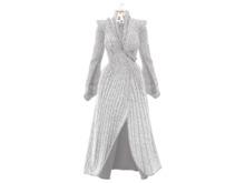 PLASTIX - Vulcan Coat (Fur-Grey) - Add me