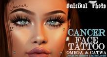 [Suicidal Thots] Cancer Face Tattoo (rez & open)