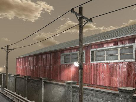 Power Line Realistic - Low Prim - HD Textures