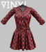 Vinyl - Blvd Tartan Dress Pak Red