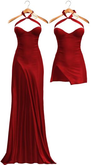 Blueberry - Demi - Long & Short Dresses - Red