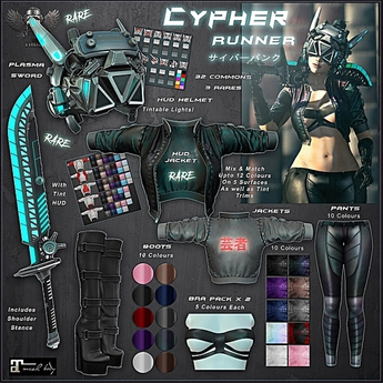 [The Forge] Cypher Boots, Black