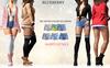 Blueberry - Pia - High Waist - Denim Shorts - Fat Pack