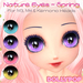 ~Dollypop~ Nature Eyes  - Spring for M3, M4, Kemono, Venus, Anime, Chibi, Mars etc...