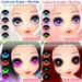 ~Dollypop~ Nature Eyes  - FATPACK for M3, M4, Kemono, Venus, Anime, Chibi, Mars etc...
