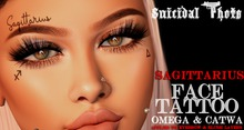 [Suicidal Thots] Sagittarius Face Tattoo (rez & open)