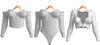 Blueberry - Laine - Tops & Bodysuits - White