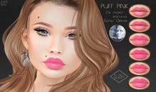 Lush - Puff Pink - 6 Lipsticks - Genus
