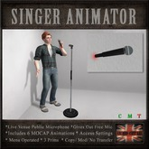 Microphone for Karaoke / Singing Live Venues (6 MOCAP Animations)