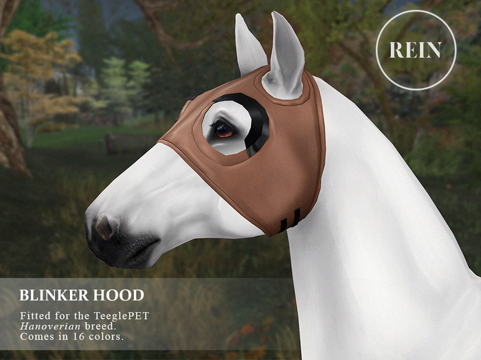 REIN - TeeglePet Blinker Hood HANOVERIAN
