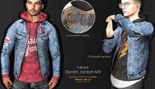 <Kalback> Denim Jacket M3 Original Blue