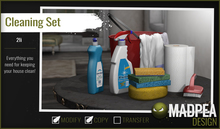 MadPea Cleaning Set
