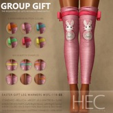 HEC - Easter GIFT Leg Warmers WSFL-118-03 (UA)