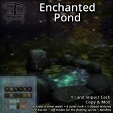 [DDD] Enchanted Pond - 1 LI Cute Mesh Pond w/ Optional Twinkles & Spirits