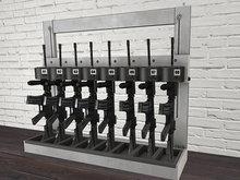 Gun Rack Mesh - HD Textures - Low Prim - 2 Prim each