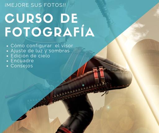 CURSO DE FOTOGRAFÍA - ESPAÑOL