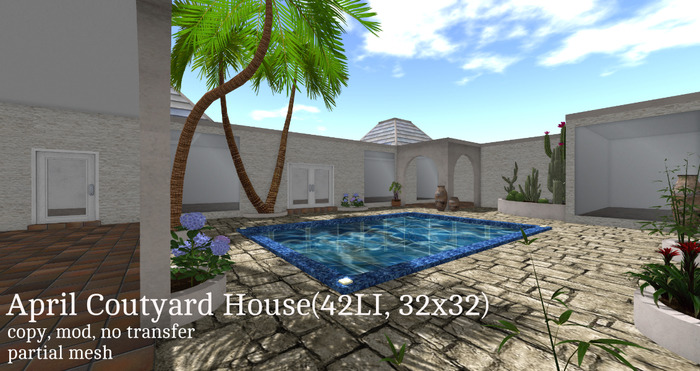 April Coutyard House(42LI, 32x32)