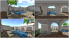 Collage april coutyard house