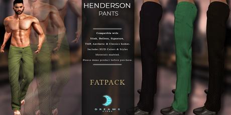 Marketplace SALE!  :::DREAMS::: Henderson Pants -FATPACK- [ADD]