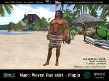 Gaagii - Maori Skirt - Piupiu (unisex) male/female (add.wear)