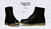 MDF  Martin Boots  - Black - (wear/rez)