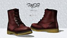 MDF  Martin Boots  - Bordo  - (wear/rez)