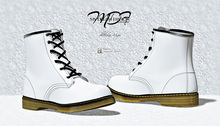 MDF  Martin Boots  - White  - (wear/rez)