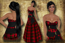 *Inspirations* Tartan Dress - Wallace
