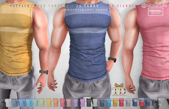 ^TD^ Smoothly & Soft Tank FATPACK