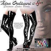 *XO* Cosmea Latex Boots