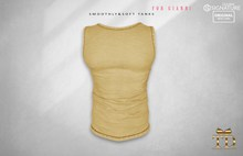 ^TD^ Smoothly & Soft Tank (Gianni) Soft yellow