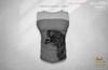 ^TD^ Smoothly & Soft Tank (Gianni) Soft Dark & White + Graphic