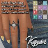 + Kamiri + Celtic Pearl Ring Maitreya Bento