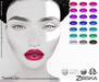 Zibska ~ Themis Lips in 21 colors with Lelutka, LAQ, Catwa and Omega appliers and tattoo layers
